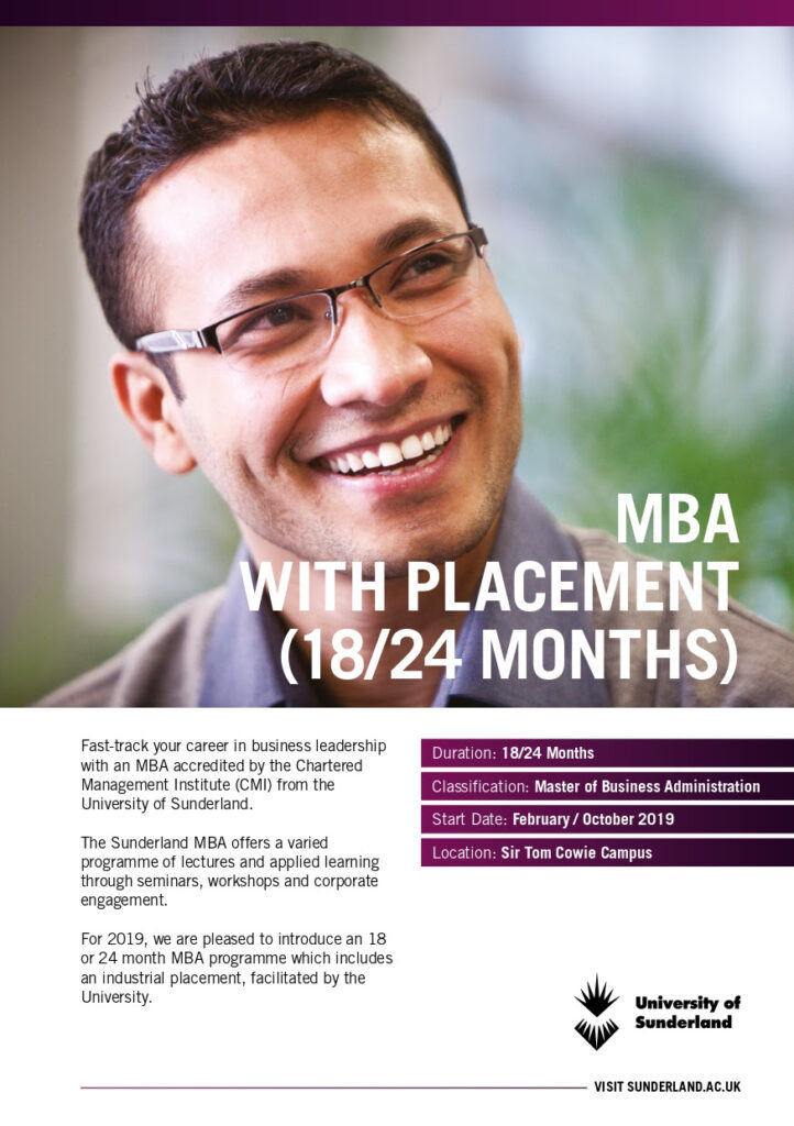 Mba with placement